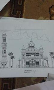 Gambar Rencana Masjid
